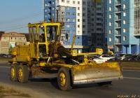 Автогрейдер ДЗ-143 #0586 ЕК 22. Алтайский край, Барнаул, Власихинская улица