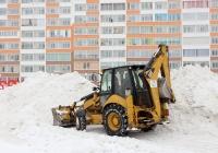 Экскаватор-погрузчик Caterpillar 428E #5097 ТМ 70. Томск, улица Герасименко