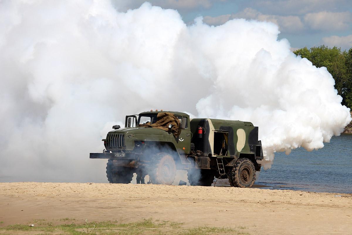 Дымовая машина ТДА-У на шасси Урал-43206 #4132 АТ 50. Владимирская область, Муром