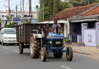Трактор. Sri Lanka