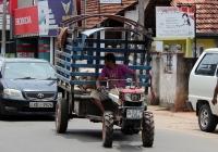 Мотоблок. Sri Lanka