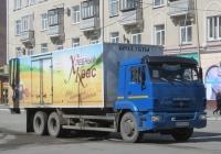 Фургон 576523 на шасси КамАЗ-65117 #У 041 КН 45. Курган, улица Карла Маркса