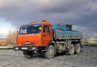 Автоцистерна НефАЗ-6606 на шасси КамАЗ-53215 #Н 767 ВХ 66 . Свердловская область, Асбест