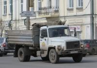 Самосвал ГАЗ-САЗ-35071 на шасси ГАЗ-3309 #У 645 ЕЕ 45. Курган, улица Куйбышева