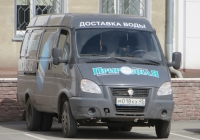 "Фургон ГАЗ-2705-288 ""Газель-Бизнес"" #М 018 КХ 45. Курган, улица Куйбышева"