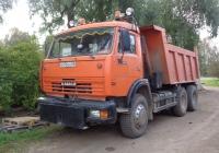 Самосвал КамАЗ-45147 на шасси КамАЗ-65115 #О 478 ОО 60. Псковская область