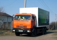 Фургон на шасси КамАЗ-65115 #О 979 ТХ 96 . Свердловская область, Луговской