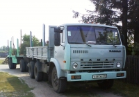 Бортовой автомобиль КамАЗ-5320 с прицепом #О 497 МТ 96 . Свердловская область, Луговской