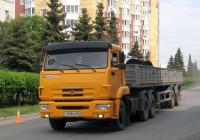 Седельный тягач КамАЗ-65116 #Т 008 КО 96 c полуприцепом . Тюмень, Привокзальная улица