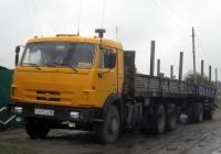 Бортовой грузовой автомобиль КамАЗ-53212 #У 471 СА 96 с прицепом . Свердловская область, Луговской