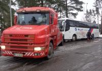 Эвакуатор Scania #СIU-853. Финляндия, Вантаа