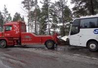 Эвакуатор на шасси Scania #СIU-853. Финляндия Вантаа