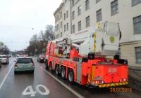 Пожарный автоподъемник Bronto Skylift F61 RPX на шасси Sisu #XMT-765. Финляндия, Хельсинки