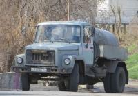 Ассенизационная машина на шасси ГАЗ-3307 #Н 840 ВВ 45. Курган, Набережная улица