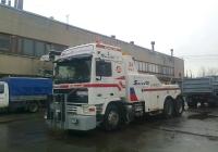 Эвакуатор на шасси Volvo F12 # В 756 КР 78. Санкт-Петербург, Шушары, парк Совтрансавто СПб