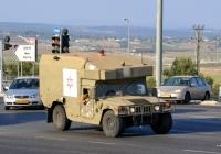 Военный медицинский автомобиль M997A2. Израиль, Йокнеам