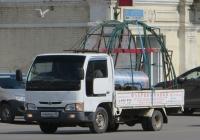 Бортовой грузовик Nissan Atlas #X 444 BX 45.  Курган, улица Куйбышева