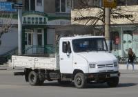 Бортовой грузовик ЗиЛ-5301АО #У 555 КМ 45.  Курган, улица Куйбышева
