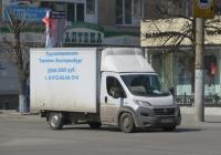Фургон на шасси FIAT FSТ0Е4 #B 346 HA 196. Курган, улица Куйбышева