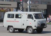 Санитарный автомобиль УАЗ-2989 #Х 222 КН 45. Курган, улица Куйбышева