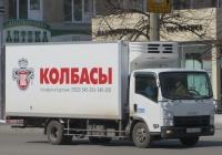 Фургон на шасси Isuzu ELF #У 947 KM 45. Курган, улица Куйбышева