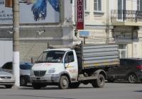"Самосвал ГАЗ-САЗ-2505-10 на шасси ГАЗ-33104 ""Валдай"" #M 002 KE 45. Курган, улица Куйбышева"