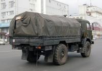 Бортовой грузовой автомобиль КамАЗ-43501 #1874 УН 76 . Екатеринбург, проспект Ленина