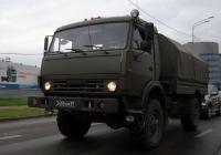 Бортовой грузовой автомобиль КамАЗ-43501 #3450 КМ 87  . Тюмень, улица 50 лет ВЛКСМ