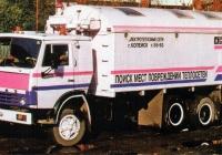 Интроскопическая лаборатория теплосетей на шасси КамАЗ-53213 #9858 ЧБФ. Челябинская область, Копейск