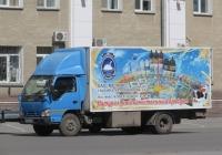 Фургон на шасси Isuzu NQR 71P-A #Р 005 ВО 96. Курган, улица Куйбышева