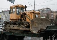Бульдозер на базе трактора Т-170. Киев, Голосеевский проспект