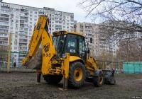 Экскаватор-погрузчик JCB 3CX #44225 АА. Киев, Голосеевская улица
