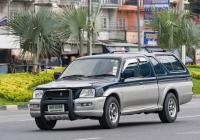 Пикап Mitsubishi Strada. Таиланд, Паттайя