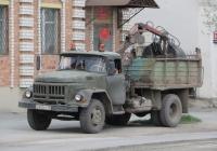 Самосвал ЗиЛ-ММЗ-555 с КМУ #Х 845 КР 45 . Курган, улица Куйбышева