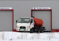 Ассенизационная машина на шасси Hyundai HD78 #Е 528 МН 124. Красноярский край, Железногорск, Красноярская улица