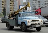 Бурокрановая машина БКМ-3,5 на шасси ЗиЛ-431410 #Е 233 ОВ 55. Омская область, город Омск, улица Лукашевича