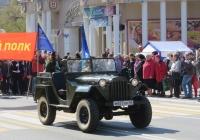 Военный автомобиль ГАЗ-67Б #М 877 КР 45. Курган, улица Ленина