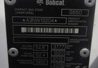 Малогабаритный погрузчик Bobcat S650 #1997 ТА 72 на выставке. Тюмень, Севастопольская улица