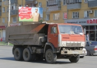 Самосвал КамАЗ-55111 #А 576 АС 45. Курган, Пролетарская улица