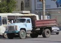 Самосвал ГАЗ-САЗ-3507 на шасси ГАЗ-53-14 #А 209 ВХ 45.  Курган, улица Куйбышева