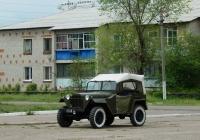 Автомобиль ГАЗ-67Б # 21-65 су. Воронежская область, Россошанский район, с. Евстратовка