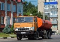 Автогудронатор АГ-6 на шасси КамАЗ-5320 # Р 214 ОА 31. Белгородская область, г. Алексеевка, ул. Маяковского
