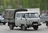 Бортовой грузовик УАЗ-39094 #945 DRA 15. Курган, улица Ленина