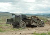 Самоходный скрепер МоАЗ-6014. Крым, Симферопольский район