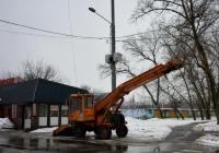 Снегопогрузчик ТКМ-237 #0365 ВХ 77. Москва, Рижский проезд