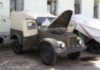 Автомобиль ГАЗ-69. Москва, улица Рогожский Вал, музей Ретро автомобилей