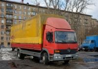 Бортовой грузовой автомобиль Mercedes-Benz Atego 1523 #Р 602 УО 199. Москва, Рижский проезд