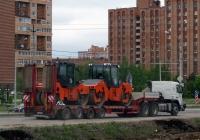 Каток Hamm HD120. Калуга, улица Генерала Попова