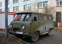 Микроавтобус УАЗ-220695 #Н 633 ТК 777. Москва, Госпитальная площадь (территория ГКБ № 29)