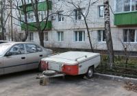 """Прицеп-палатка """"Скиф М1"""". Москва, Большая Академическая улица"""